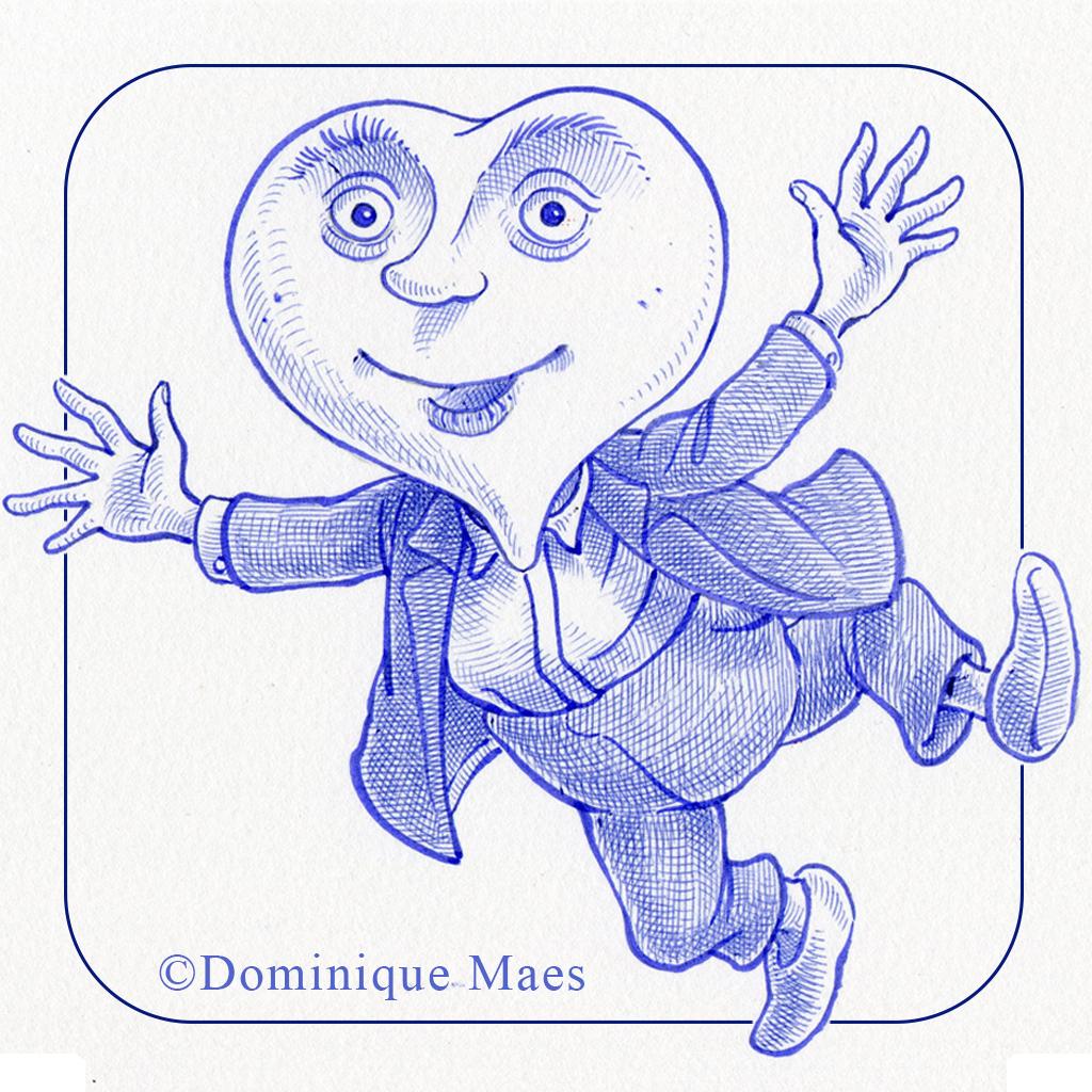 Bleu de Toi (HD) de Dominique Maes - CotCotCot-apps.com