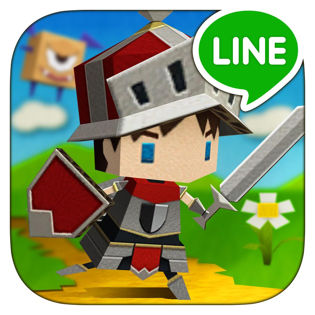 LINE Paper Dash World